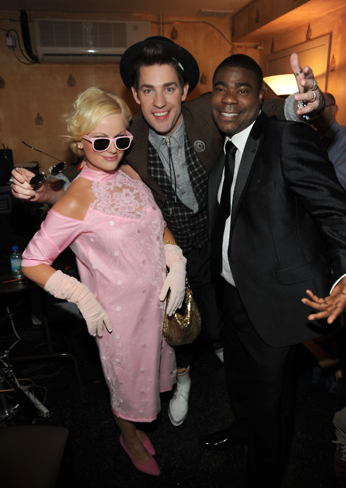 Amy Poehler, John Krasinski and Tracy Morgan