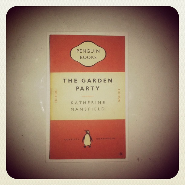 the garden party #katherinemansfield #penguinbooks #bookoftheday #buchdestages #lelivredujour #igdaily #instagramers #instamood #instagood #igers #iphoneonly #iphone4 #instadaily #instagramhub #igersturkey #igersistanbul #ig #instago #webstagram #theinstagrampic  (Taken with instagram)
