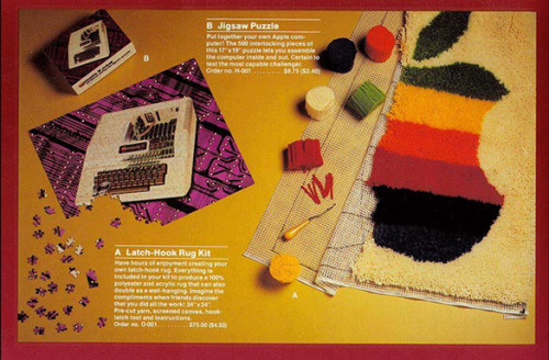 1983 Apple Gift Catalog - Signalnoise.com via Janet McKnight