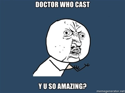 Doctor Who Cast…