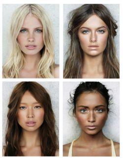 c-aesar:  kisslng:  aquarais:  alahae:  they're all gorg  diversity  Gorgeous  4 of the most perfect girls in the world