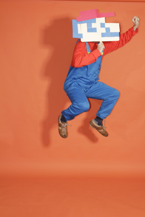 Jeff Ryan as Mario  - photo by Ogilvy CommonHealth Worldwide