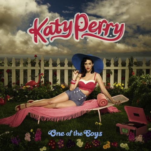 Katy Perry 『One Of The Boys』 ★4.41 1.One Of The Boys ★★★★★ 2.I Kissed A Girl ★★★★☆ 3.Waking Up In Vegas ★★★★☆ 4.Thinking Of You ★★★★☆ 5.Mannequin ★★★★★ 6.Ur So Gay ★★★★☆ 7.Hot N Cold ★★★★★ 8.If You Can Afford Me ★★★★★ 9.Lost ★★★☆☆ 10.Self Inflicted ★★★★★ 11.I'm Still Breathing ★★★★☆ 12.Fingerprints ★★★★★