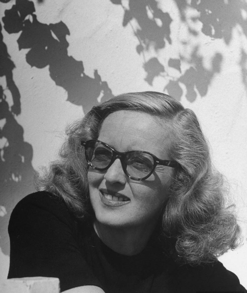 Bette Davis, photographed by Loomis Dean, 1947 -via gsfado