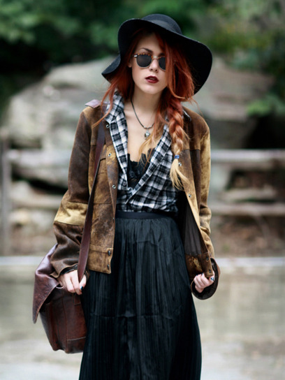 Rustic Fashion Style Style tip: Add a beate...
