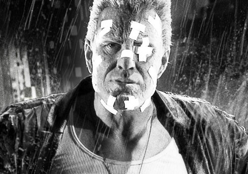 Mickey Rourke talks Sin City 2 Comic book fans the world over will have found their ears pricking at the news that Robert Rodriguez and Frank Miller are planning to include the story Just Another Saturday Night in the long-awaited sequel to Sin City.Involving three of the key players from the first film in the form of Hartigan (Bruce Willis), Nancy (Jessica Alba) and Marv (Mickey Rourke), it would be a popular choice, provided the original talent could be persuaded to return.Mickey Rourke is aware of proceedings and recently spoke to Comingsoon.net about the chances of a return for big Marv. [FOR THE FULL STORY, CLICK ON MARV OR FOLLOW THIS LINK]
