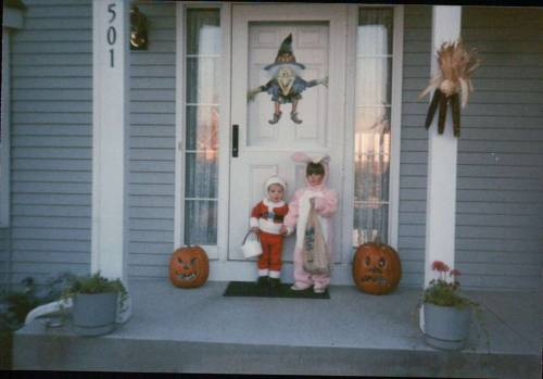imremembering:  Show & Tell: Halloween Parade Christmas and Easter came early for tchotchkelove on this Halloween.