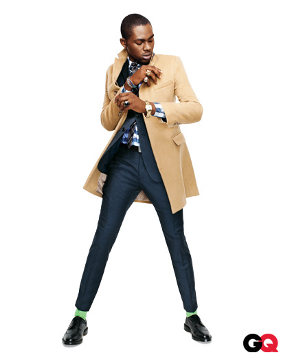 gqfashion: Wear It Now: Smokin' Camels  We recruited the ever stylish rapper Theophilus London to prove that there's nothing better for fall than a camel-colored topcoat. Check out our selections (and how to wear them) here.