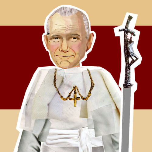 Blessed JP2 here reminding you good Catholics that tomorrow is All Saint's Day, and get yourselves to church tonight or tomorrow!
