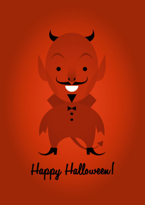 stanleychowillustration:  Happy Halloween!
