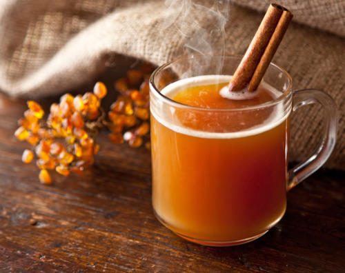 autumn-afternoons:  thecakebar:  Orange Spiced Cider Cocktail Recipe 1 Eco-friendly Numi Orange Spice Tea Bag 8 oz. Apple Cider 2 oz. Ron Abuelo Añejo rum Heat Cider until very hot. Steep 1 Tea Bag directly in Cider for 5 minutes, covered. Uncover, add Rum and stir. Garnish with Cinnamon Stick. recipe credit here