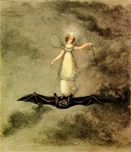 1985 Amelia Jane Murray (English, 1800-96) ~ The Night Fairy