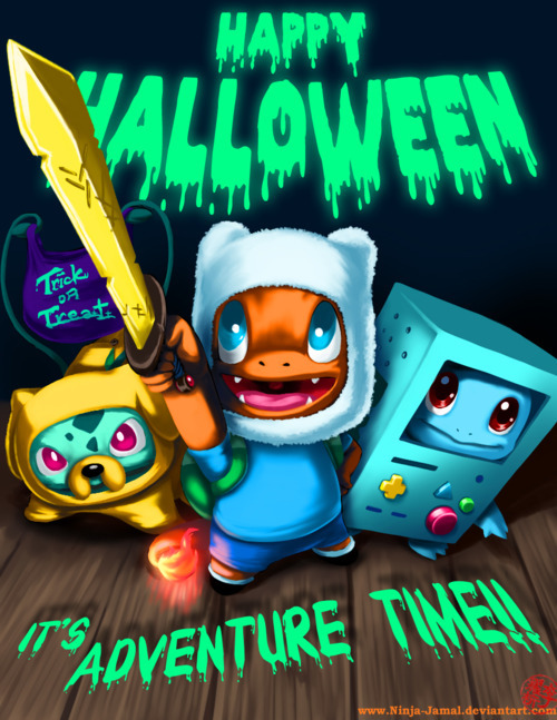 pura-mierda:  Happy Halloween 2011  by Ninja-Jamal