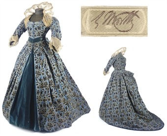 A gorgeous 1880s Elizabethan style gown made by the legendary Charles Worth.