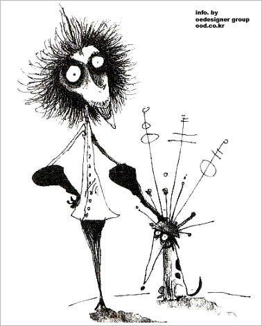 jcwunderground:  The Art of Tim Burton - Happy World Goth Day!