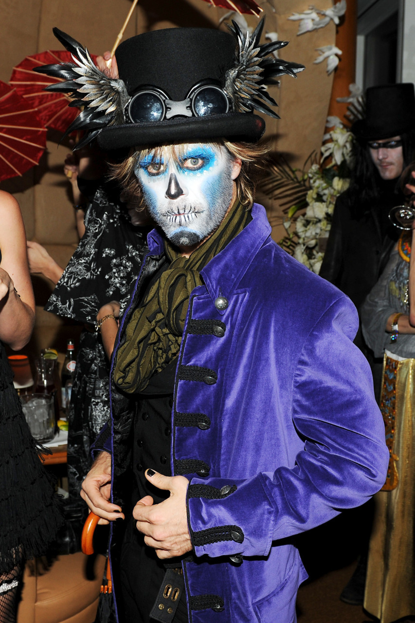 Halloween party at The Standard, New York on Saturday night