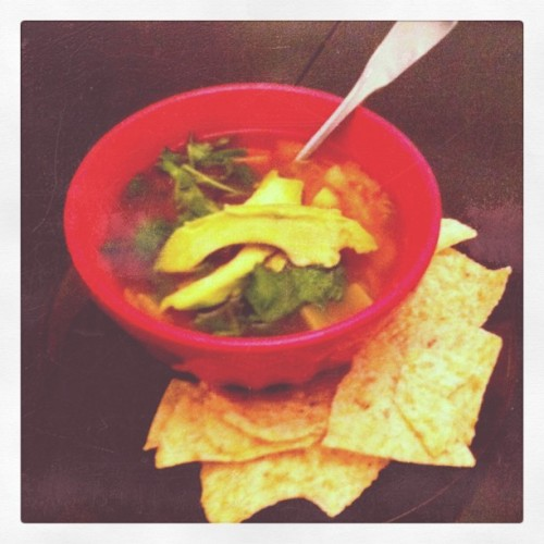 Posole-vegetable soup (Taken with instagram)