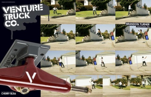 Brandon Turner 180'ing for the venture ad! #YACHTCLUB #SK8MAFIA #themovement