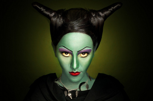 nataliafeliu:  Maleficent on Flickr. Makeup/Hair: Andrea Martínwww.flickr.com/photos/andreamua Model: Daniela Verastegui