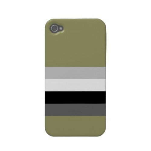 Grayscale lines iphone4/4S case.