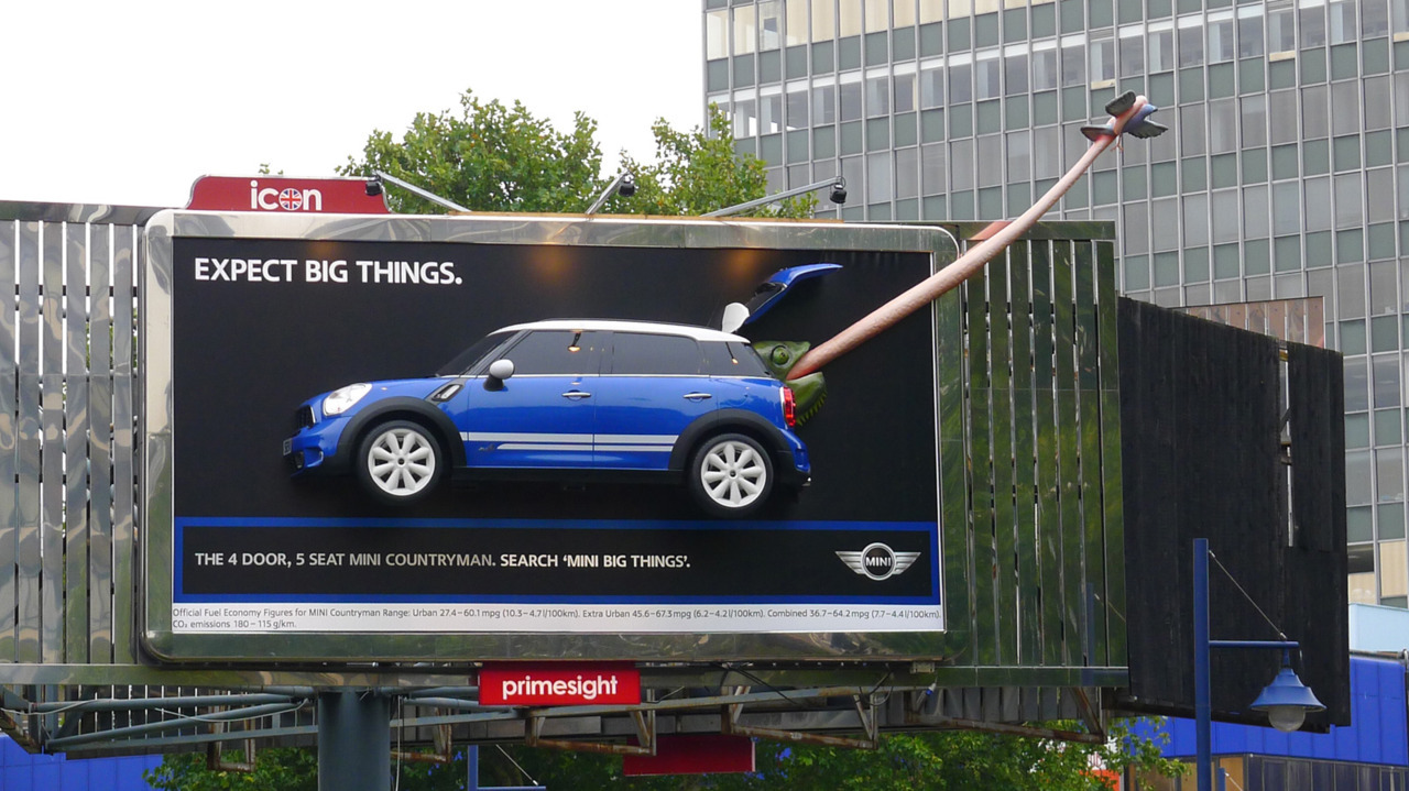 MINI big things billboard