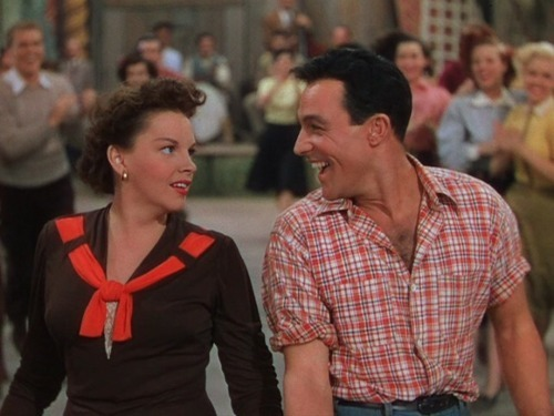 Judy Garland and Gene Kelly in Summer Stock (1950) -via gkjg4ever