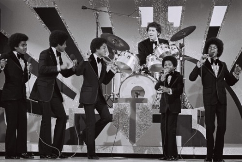 The Jackson 5 performing at the 16th Annual GRAMMY Awards on March 2, 1974   [Photo: William R. Eastabrook/M. Photographer]