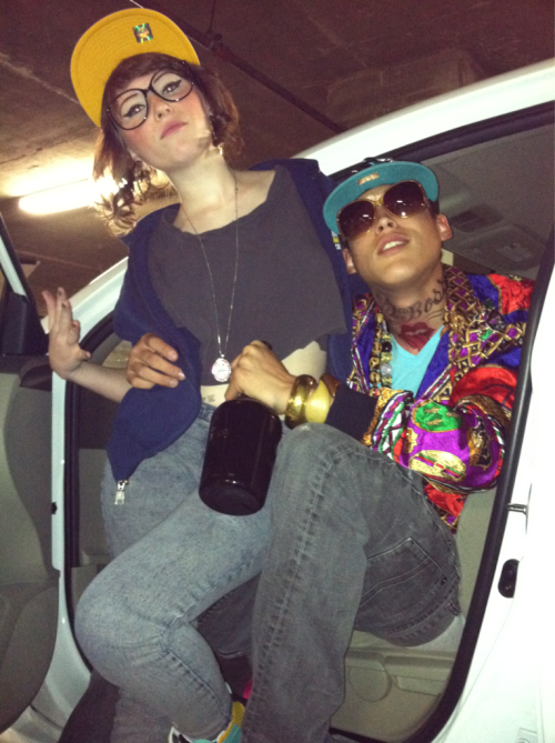 Lol best costumes. Kreayshawn n Lil B