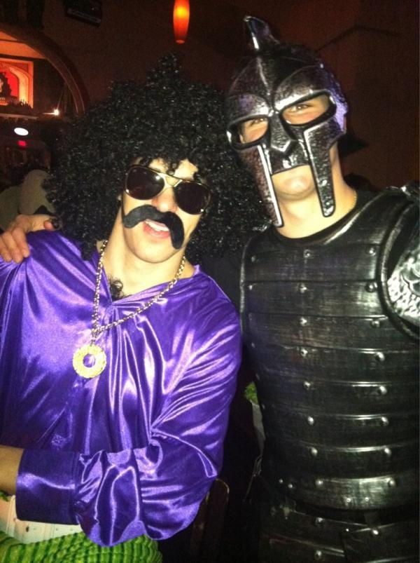 nationalpostsports:  NHL Halloween: Guess which one is Sidney Crosby.