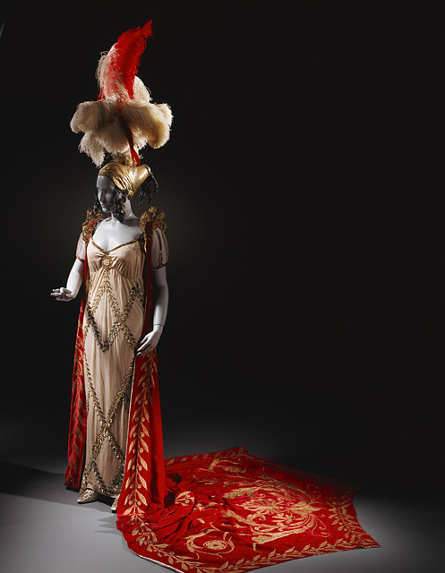 ornamentedbeing:  House of Lanvin (Alex Ceslas Rzewuski)| Fancy Dress Costume for Ganna Walska as Pauline Borghese  ca. 1926  how about i just sit here and lust after overdone dresses for the rest of Halloween