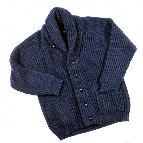 iqfashion:  Peter Johnston 12 Ply Scottish Cashmere Cardigan  Ridiculous. Probably the ultimate old-man sweater for winter.