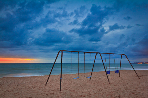 Beach Swings - San Clemente, CA | EXPLORED by Justin in SD on Flickr.