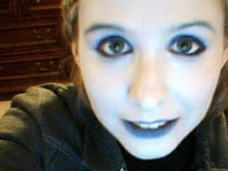 My best Vriska makeup so far. Comes complete with skin colour and everything. :D