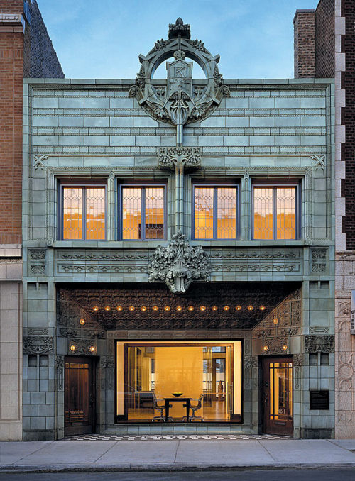 Reasons to move to Chicago, #4,234chailatteplease:  Architect Louis Sullivan's Krause Music Store, Chicago Illinois.