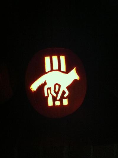 STATES pumpkin!!!! this makes my whole halloween. Thanks to Phillip Window