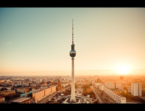 TV Tower, Berlin.