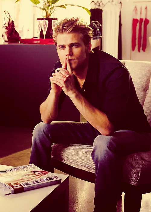 I want @paulwesley for christmas. Yeah.