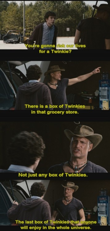 ivanainsomniac-loveszelda:  I love how dedicated he is to finding a twinkie. :')