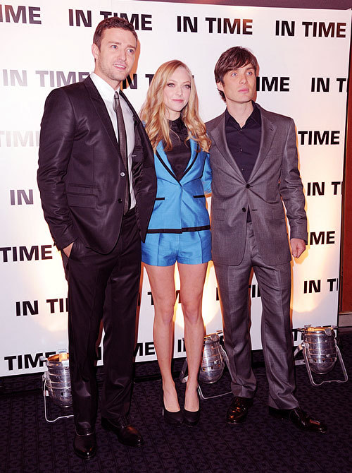 futuresexlovesounds:  In Time UK premiere, 10/31/2011.