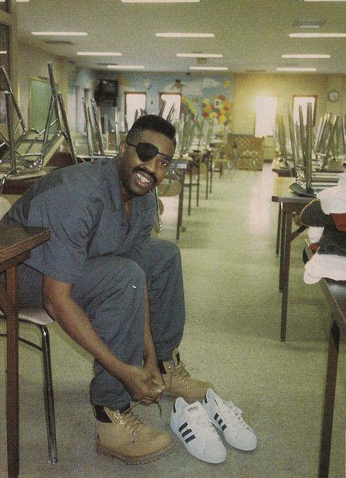 "Slick Rick The Ruler In Jail Rock The Authentic Hip Hop Shoes The Adidas ""SUPERSTAR"""