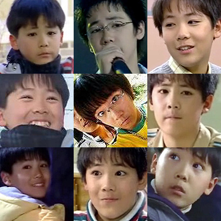 9 pics of little Hongki