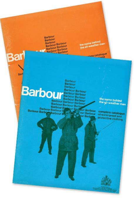 Catalogs from the Barbour website.  Lots of cool stuff there, go poke around.