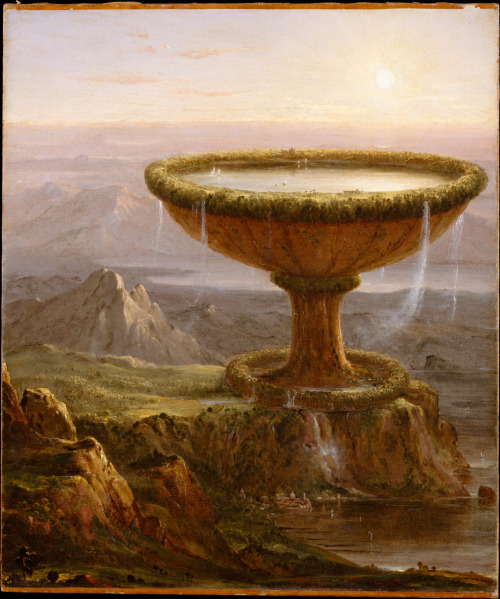 anaissharesart:  The Titan's Goblet, Thomas Cole