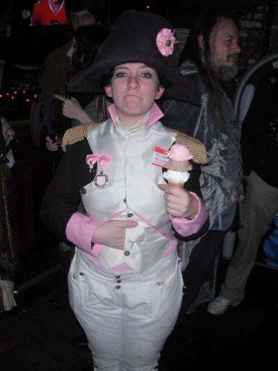 ifbythisyoumeanthat:  Happy Halloween from Neapolitan Bonaparte. No, I'm not from Bill & Ted, but you're thinking of Ziggy Piggy at Waterloo's.
