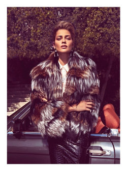 (via Ana Beatriz Barros by Koray Birand for Harper's Bazaar Turkey November 2011)