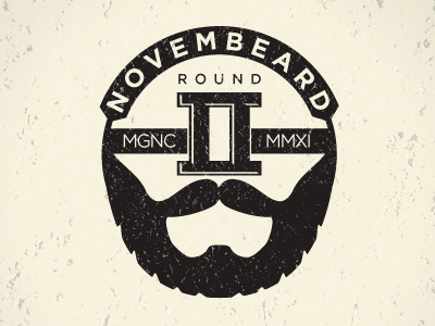 Graphic for the 2nd Annual Mindset Gear Novembeard contest.