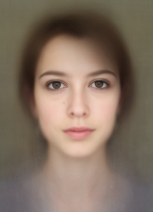 feltron:  Beautiful composite  of 400 self-portraits. Lovely..