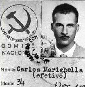fuckyeahmarxismleninism:  blackboxlier:  Carlos Marighella's Communist Party of Brazil membership card  Marighella later co-founded the Ação Libertadora Nacional (ALN) and wrote the Minimanual of the Urban Guerrilla