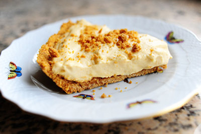 OH MY! Pumpkin Cream Pie