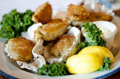 delectabledelight:  Pan Fried Oysters (by Shellycious)